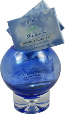 RK's Aroma Pearl Facial Kit (one time use)(pack of 2) 60 g