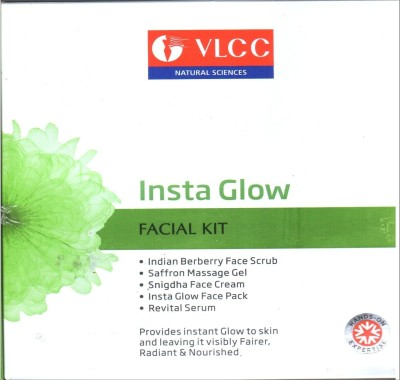 VLCC Insta Glow Facial Kit (Set of 5) 210g 210 g