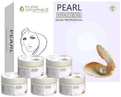Pure Organics Pearl Glow Salon Professional Facial Kit 75 g