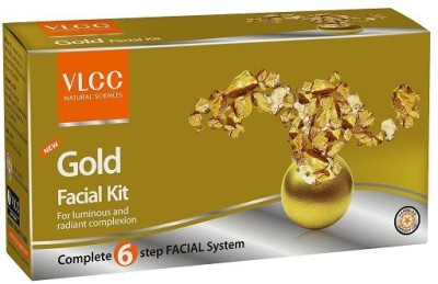 VLCC Gold Facial Kit 60 g(Set of 6)