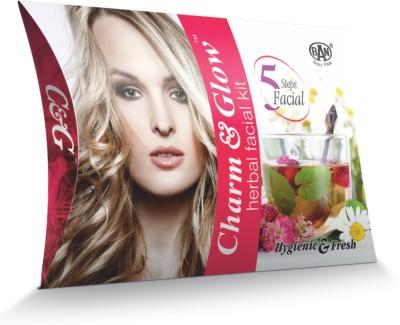 Charm & Glow Herbal Facial Kit (Set of 10) 250 g