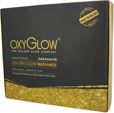 Oxyglow Golden Glow Radiance Gold Facial Kit 260 g