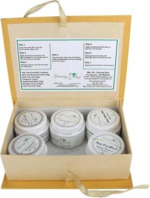 Glowing Buzz Herbal Anti Tan Facial Kit 220 g