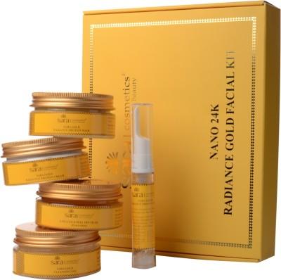 Sara Nano 24K Radiance Gold Facial Kit 415 g