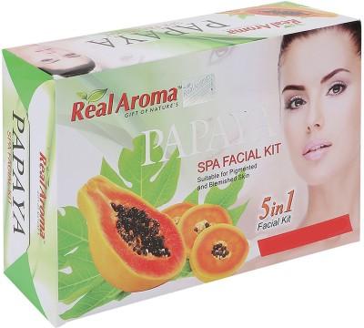 Real Aroma Papaya Spa Facial Kit 710 g