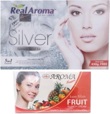 Real Aroma Smooth & Soft Skin Facial Kit 740 g