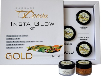 Karnani Deeva Insta Glow Facial Kit (Herbal) 75 g