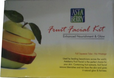 Astaberry Fruit Facial Kit - Enhanced Nourishment & Glow 52 g