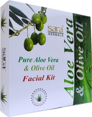 Sara Pure Aloe Vera & Olive Oil Facial Kit 555 g
