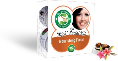 Dr. Sridevi's Ayu ,Rich, Nourishing Facial Kit 200 g