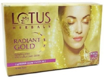 Lotus Radiant Gold Cellular Glow Facial Kit 37 g