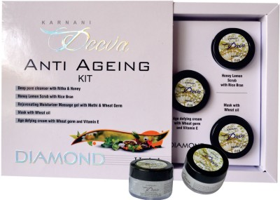 Karnani Deeva Anti Ageing Facial Kit (Herbal) 75 g