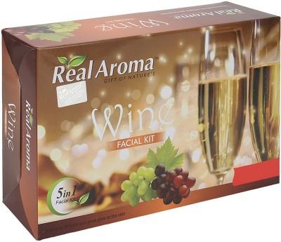 Real Aroma Wine Facial Kit 740 g