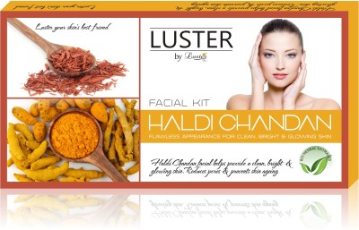 Luster Haldi Chandan Facial Kit For Flawless Appearence (New Pack) 175