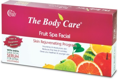 The Body Care Fruit Spa Facial Kit