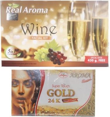 Real Aroma Anti Tanning & Skin Tonning-Facial Kit 740 g