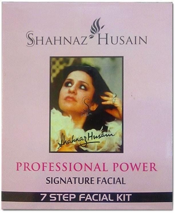 Shahnaz Husain 7 Step Signature Facial Kit 48 g(Set of 7)