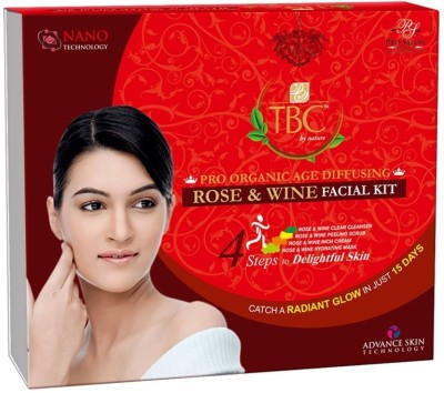 TBC by Nature Rose N Wine Facial Kit 400 g