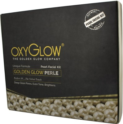 Oxyglow Golden Glow Radiance Pearl Facial Kit 260 g