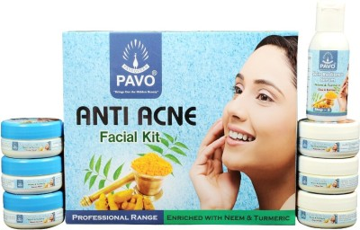 Pavo Anti Acne Facial Kit 210 g