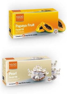 VLCC Papaya & Pearl Facial Kit 120 ml