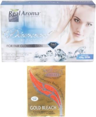 Real Aroma Fair Glowing Facial Kit 740 g