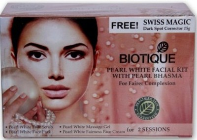 Biotique Pearl White Facial Kit With Pearl Bhasma 180 g