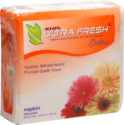 Khpl Ultra Fresh Soft Tissue Paper Napkins(Pack of 6)