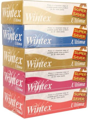 Wintex Facial Tissue(Pack of 5)