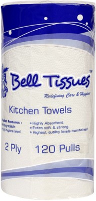 Bell Tissues KITCHEN ROLLS (120 PULLS)