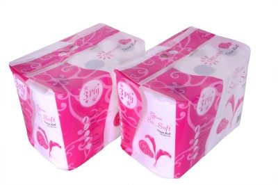 Origami Toilet Tissue Roll 10 Pieces (2 in 1)
