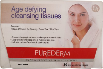 Celebrity Age Defying Cleasing Tissue
