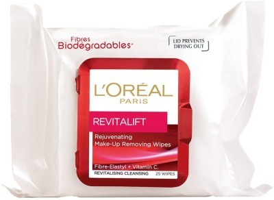 L,Oreal Paris REVITALIFT REJUVENATIG CLEANSING WIPES(Pack of 1)
