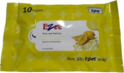 Ezee Citrus Lime Extract Wet Wipes 50 Pieces