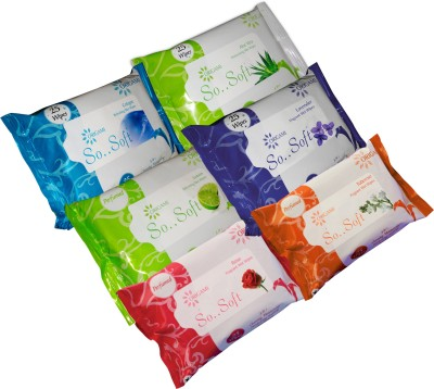 Origami Wet Wipes 6 in 1 25 pulls (6 Variants)