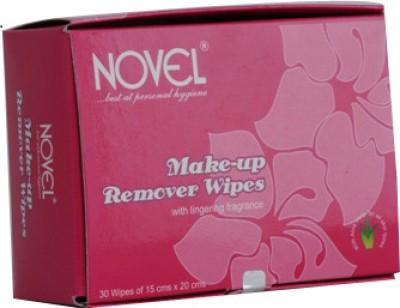 Novel MakeUp Remover Wipes