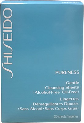 Shiseido Pureness Gentle Cleansing Sheets