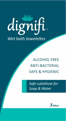Dignifi Wet Bath Towelettes(Pack of 5)