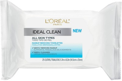 L,Oreal Paris Ideal Clean Make-Up Removing Towelettes