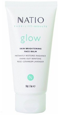 Natio Face Lift Results Glow Skin Brightening Face Balm