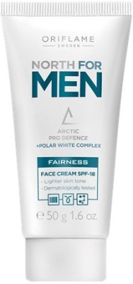Oriflame Sweden North For Men Fairness Face Cream SPF-18