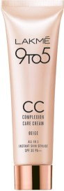 Lakme 9 to 5 Complexion Care Face Cream - Beige