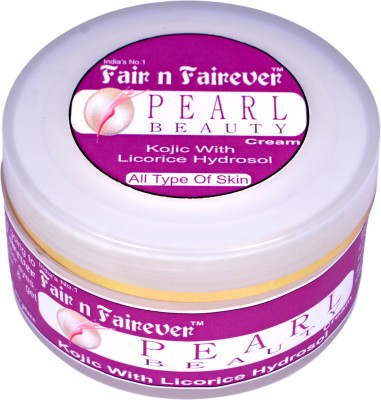 Fair n Fairever Pearl Beauty Cream (Kojic with Licorice Hydrosol)