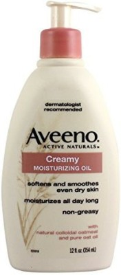 Aveeno Active Naturals Creamy Moisturizing Oil(354 ml)