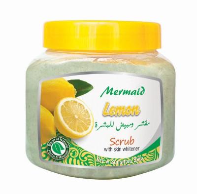 Mermaid Lemon Scrub with Skin Whitener