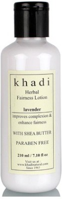khadi Natural Khadi Lavender Herbal Fairness Lotion (With Shea Butter & Paraben Free)