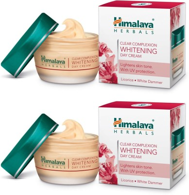 Himalaya Clear Complexion Whitening Day Cream (Pack of 2)