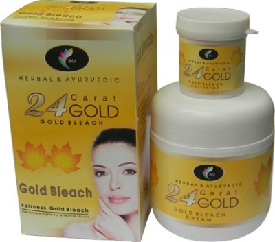 BGI Herbal & Ayurvedic 24 Carat Gold Bleach