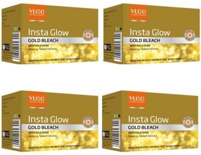 VLCC Insta Glow Gold Bleach Pack Of 4(120 g)