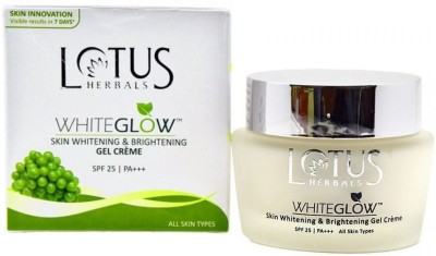 Lotus Herbals Whiteglow Skin Whitening & Brightening Gel Cream SPF 25